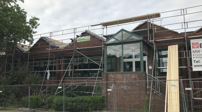 Baumaßnahmen am DGH Bliedersdorf (Juli 2021)